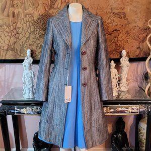 Stunning Missoni Wool / Poly Bland Italian Coat